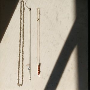 Set of 3 Long Necklaces